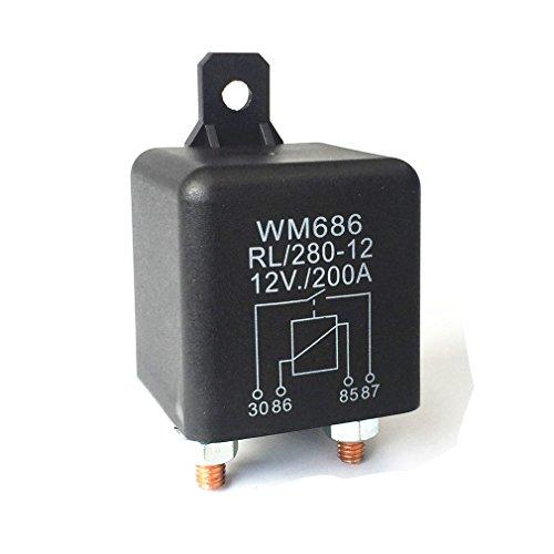 Batterie-Trennrelais 12V/200A Spitzenlast für Pkw/Lkw