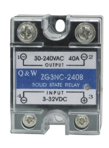 Solid State Relais 3-32VDC 40A